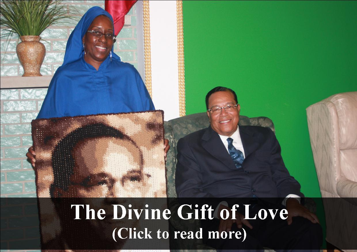 The Divine Gift of Love- One-On-One w/ Jacqueline Muhammad
