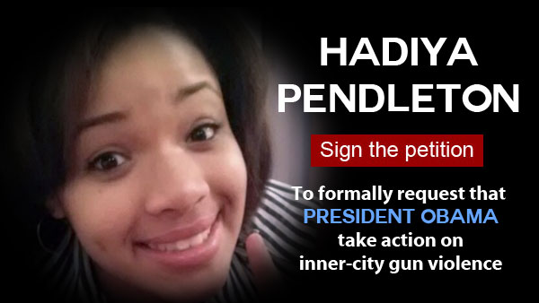 How Will President Obama Respond to the Murder of Hadiya and the Rise of Violence in Chicago?