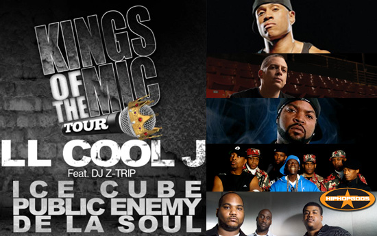 The Kings of the Mic Tour [Overview & Photos]