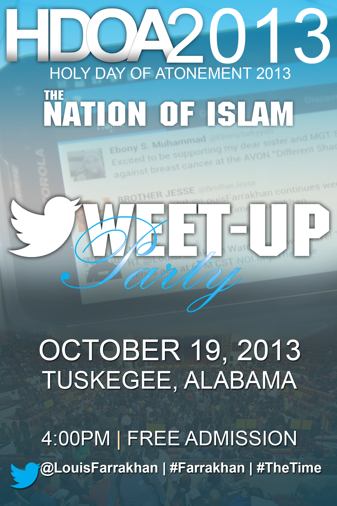 Historic HDOA 2013 Tweet-Up Taking Place in Tuskegee!