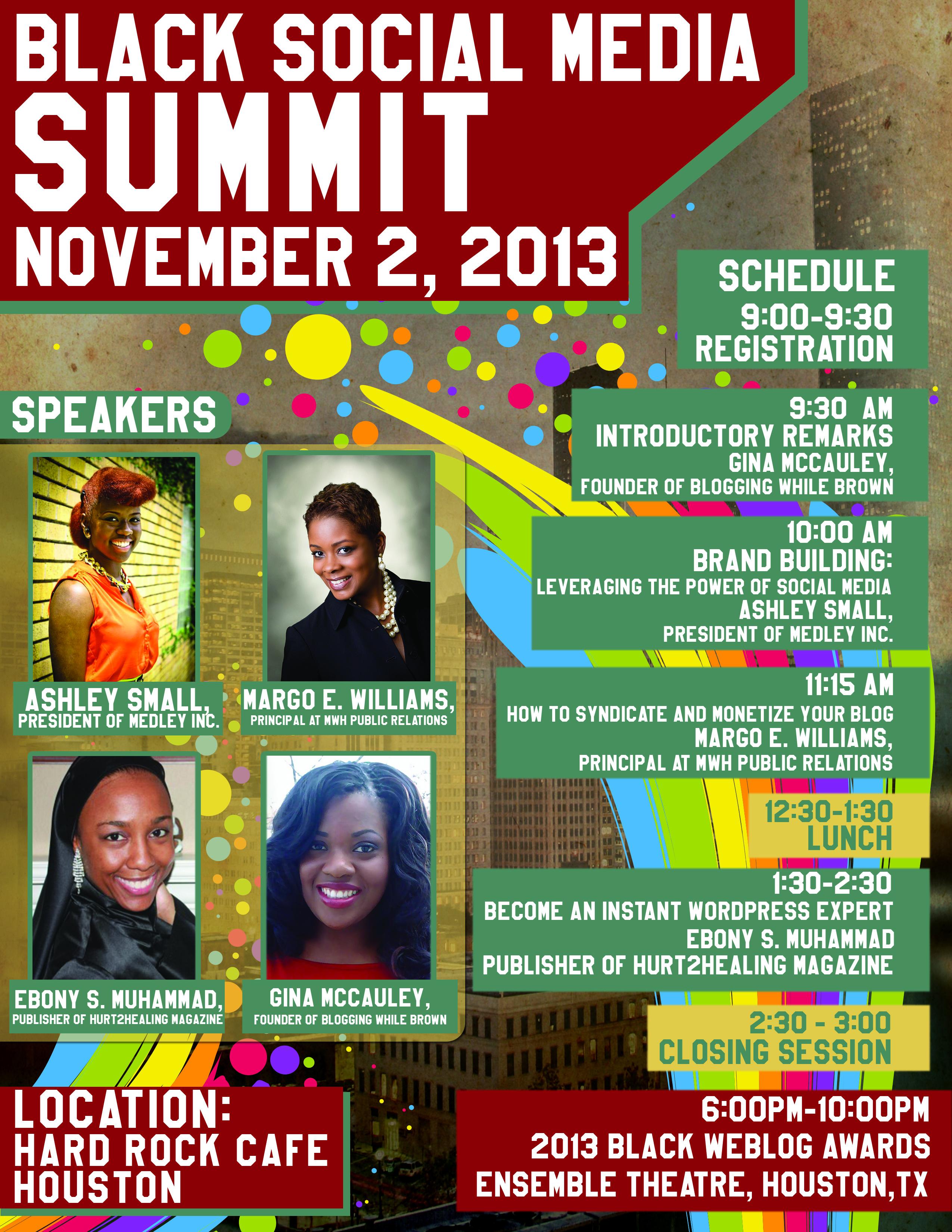 2013 Black Social Media Summit Nov. 2