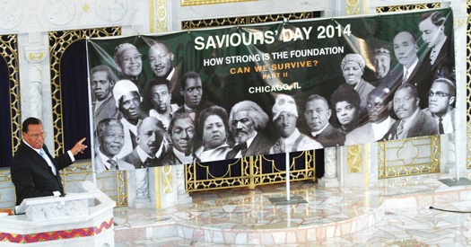 Farrakhan: How Strong Is the Foundation: Can We Survive?