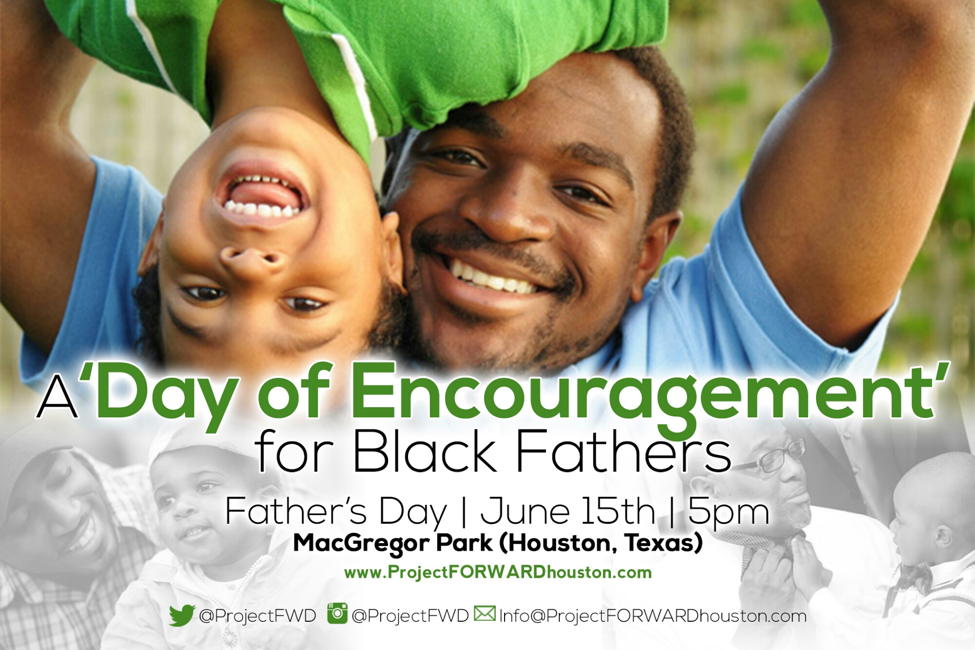 A 'Day of Encouragement for Black Fathers' : One-On-One with Deric Muhammad of Project FWD
