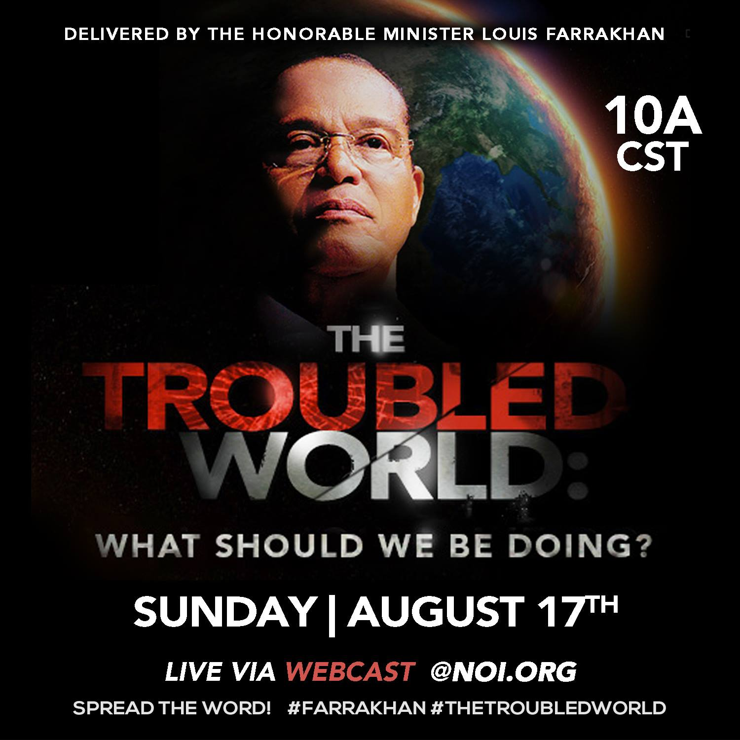 [VIDEO] More reasons why we ALL should watch Hon. Louis Farrakhan speak Sun. Aug. 17