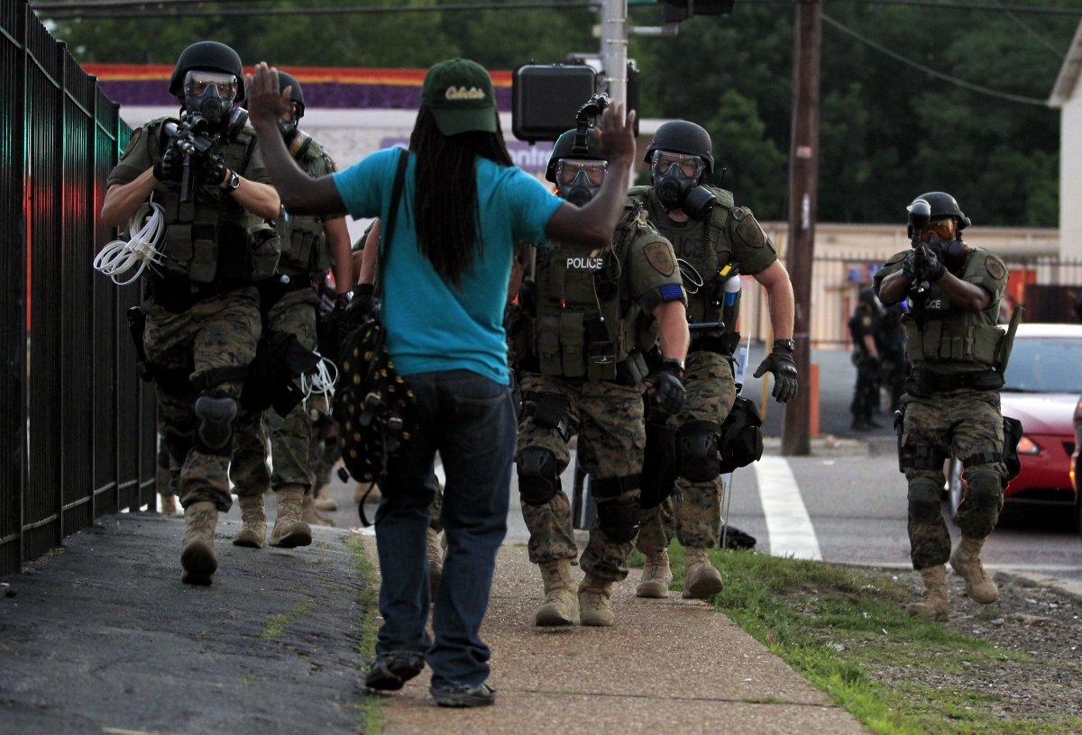 "Ferguson, Missouri: ""AMERICA'S SELFIE"""