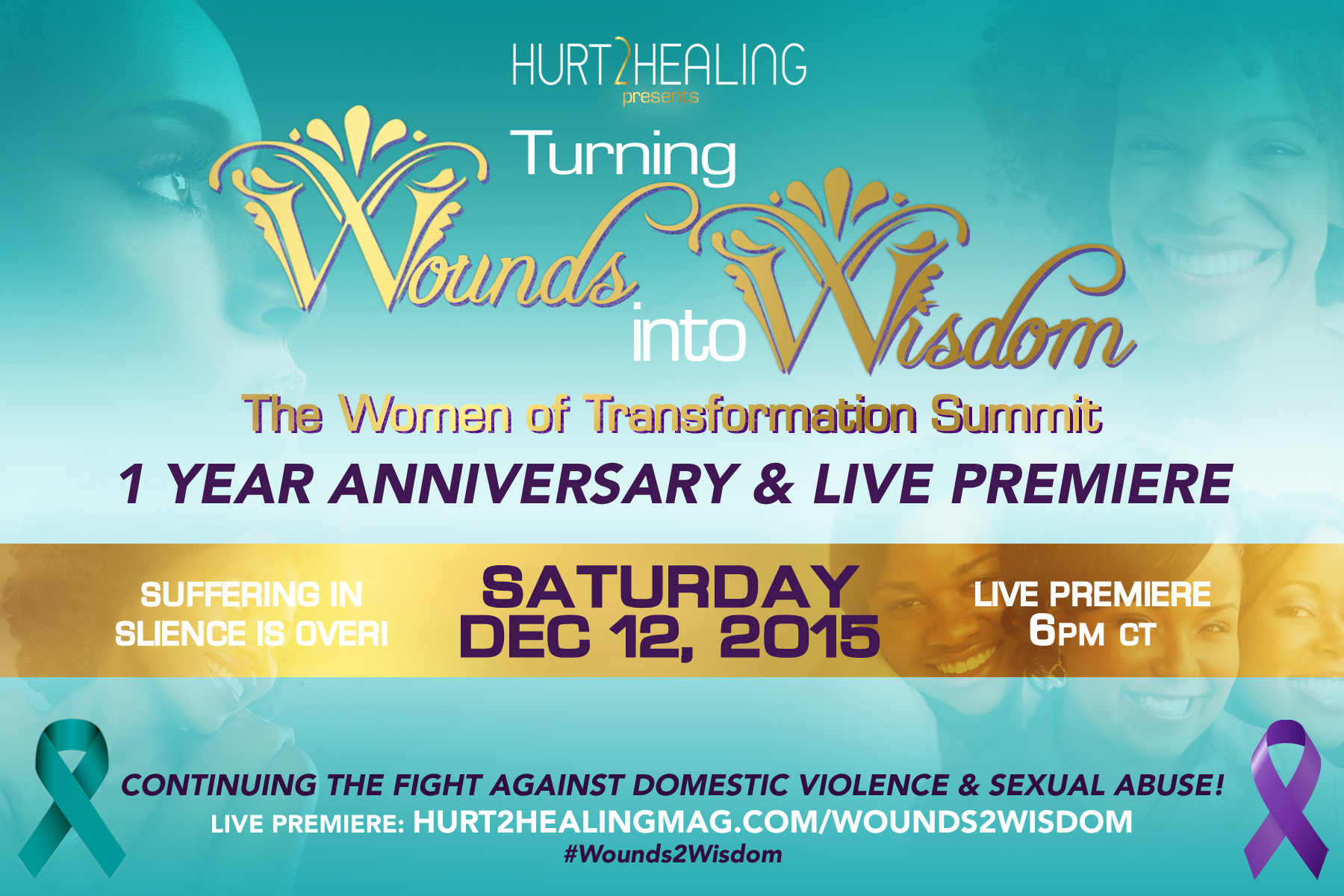 Turning Wounds Into Wisdom – Fighting Against Domestic Violence/Sexual Abuse