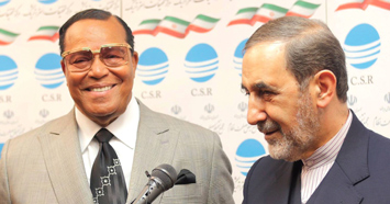 The Honorable Minister Louis Farrakhan visits Iran