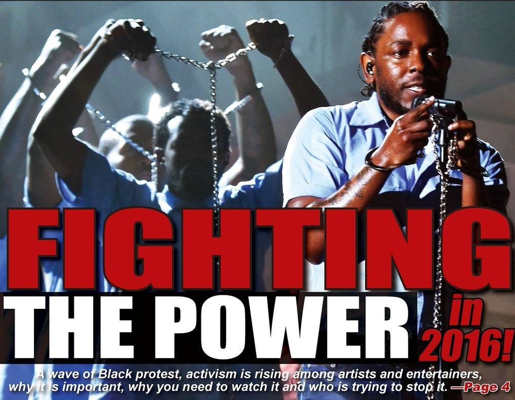 Fighting The Power In 2016!