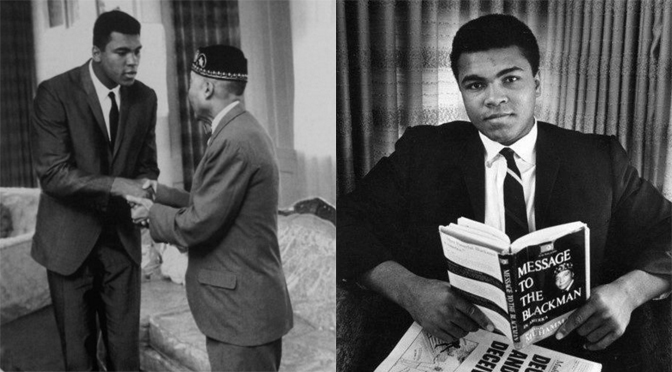There would be no Muhammad Ali without The Most Honorable Elijah Muhammad