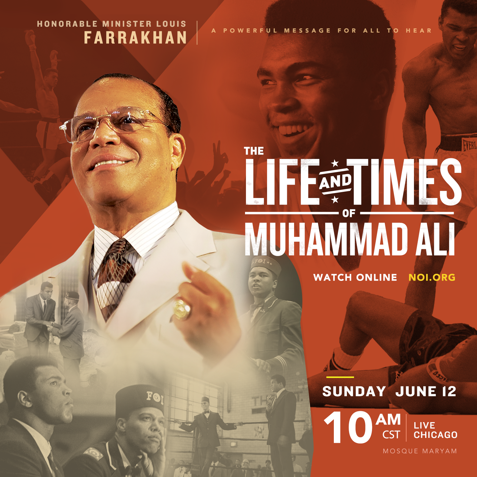 Minister Louis Farrakhan Speaks: The Life and Times of Muhammad Ali