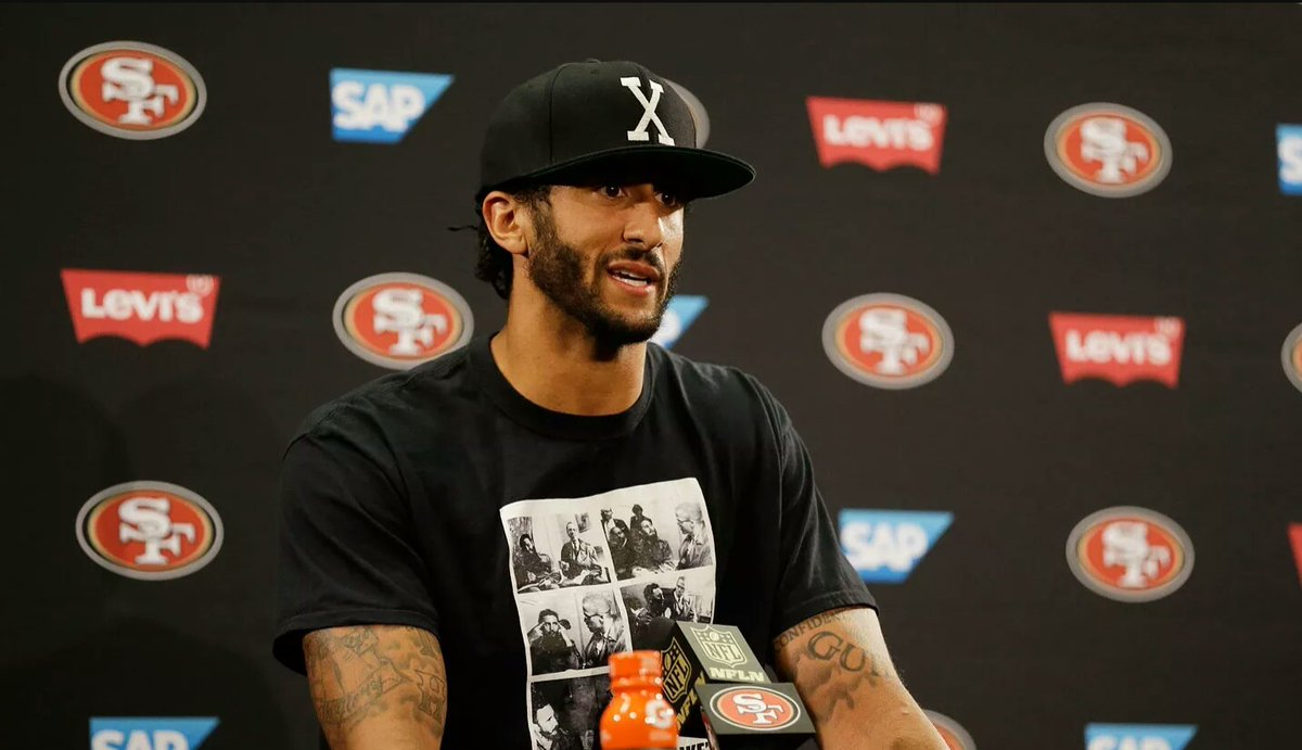 Colin Kaepernick's words sting Americans who would rather deny any problem exists.