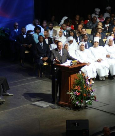 Watch the Full Replay:: Farrakhan Speaks for the21 Anniversary of the Million Man March