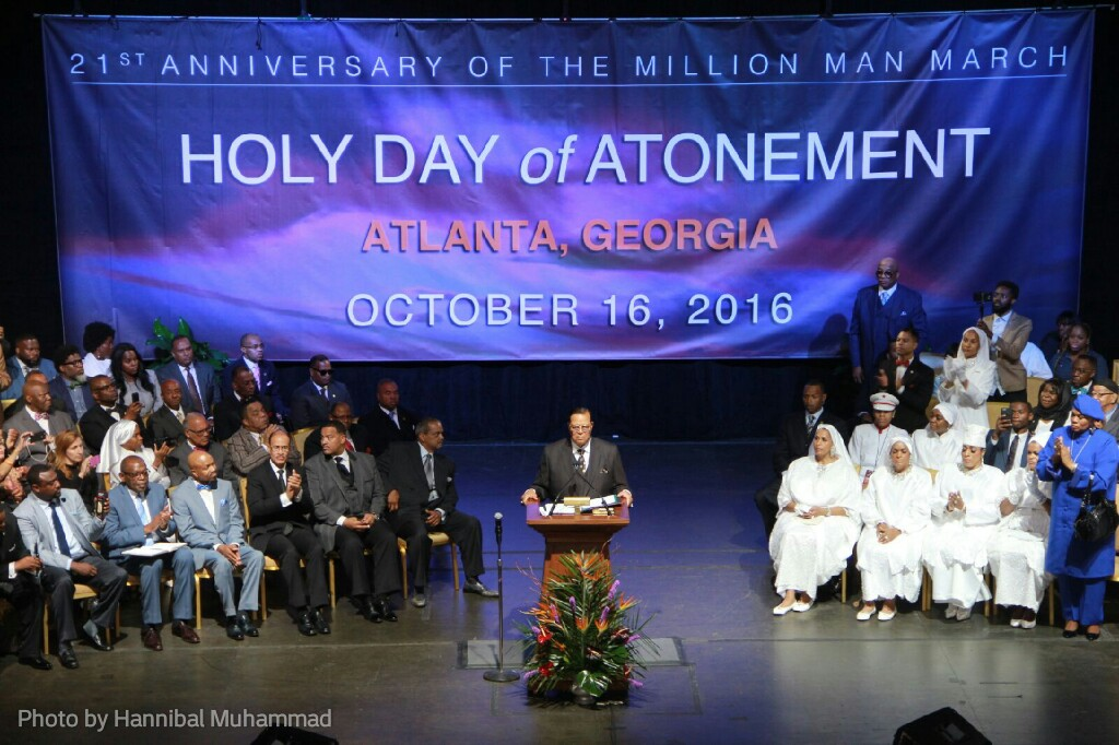 Farrakhan calls on Black America to declare, assert independence at a dangerous and a very critical time