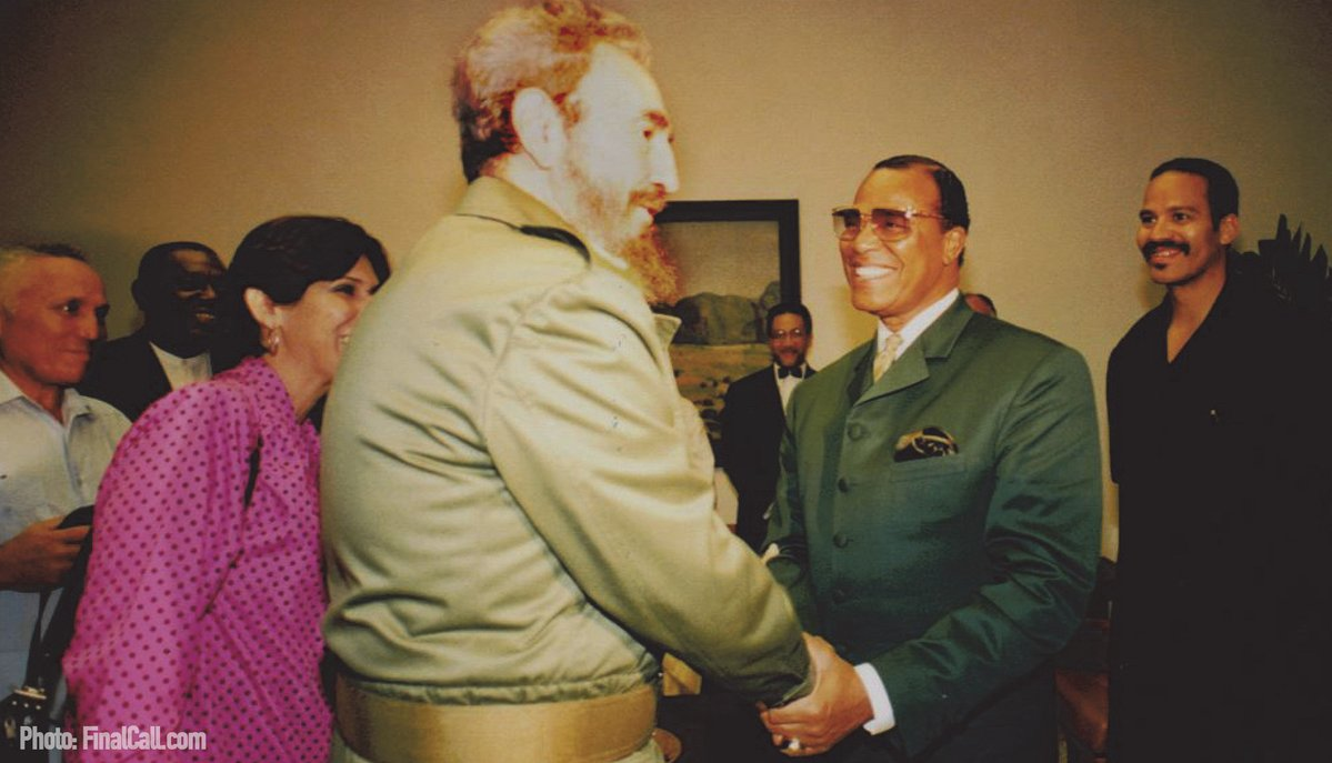 BREAKING:: Official Statement from the Hon. Minister Louis Farrakhan on the Passing of 'El Comandante' Fidel Castro