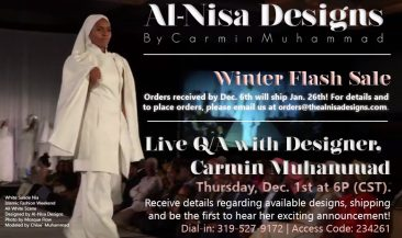 Al-Nisa Designs: Taking Islamic Fashion to the Next Level w/ Designer Carmin Muhammad
