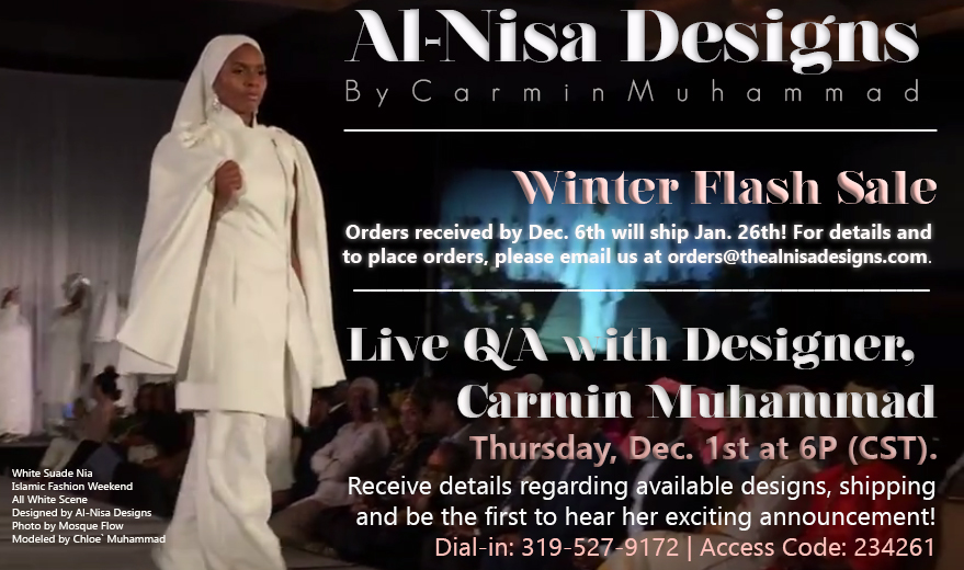 Al-Nisa Designs: Taking Islamic Fashion to the Next Level w/ Designer Carmin Muhammad