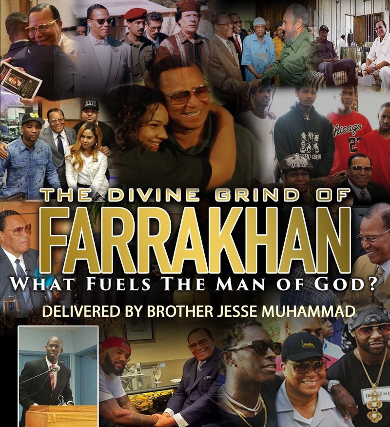 [Replay] The Divine Grind of Farrakhan: What Fuels the Man of God?