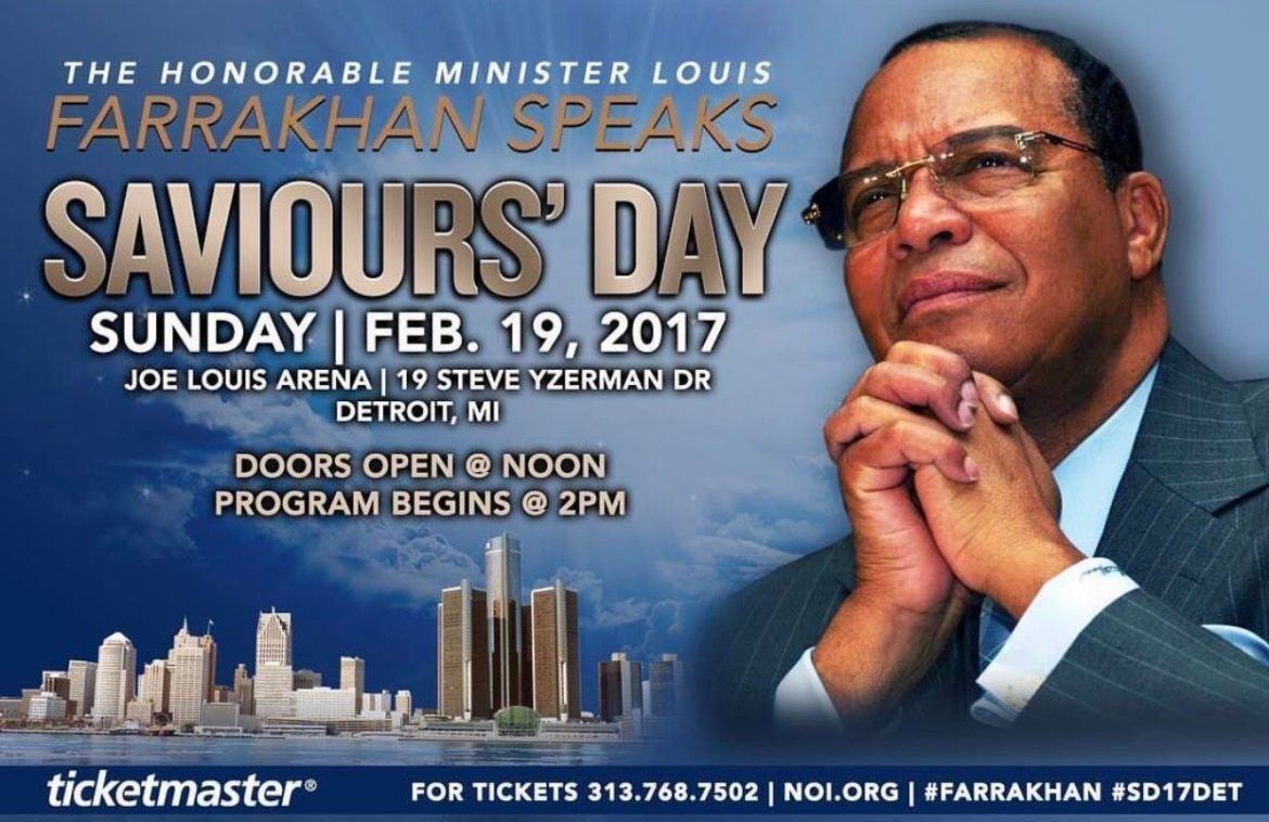 Coming Home! Saviours' Day 2017 Returns to Detroit