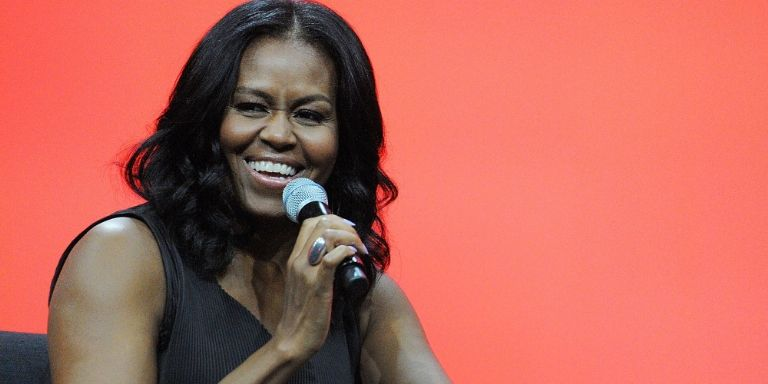 The Former First Lady Makes Her First Official Post-White House Appearance