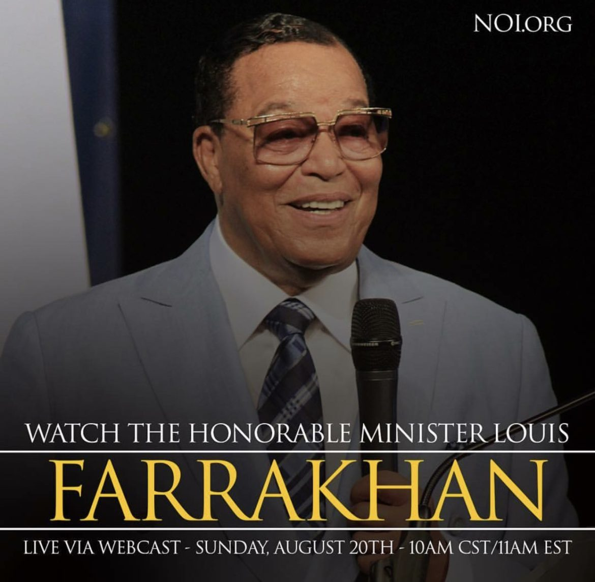 REPLAY:: Farrakhan Speaks – Seek Refuge In Allah (God)