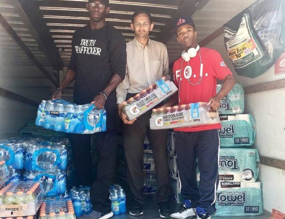 Nation Of Islam Houston Mosque Assists In Relief Efforts