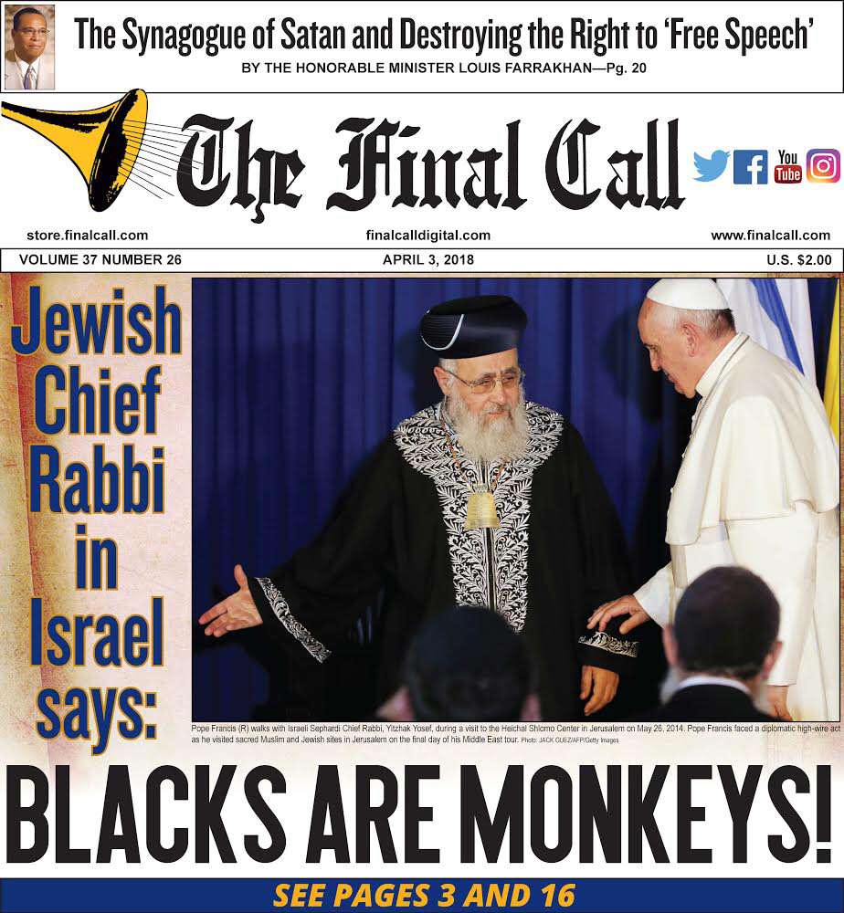 Jewish anti-Black racism, double standards and hypocrisy