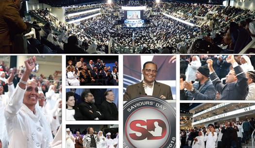 Positive views after hearing Minister Farrakhan's powerful message