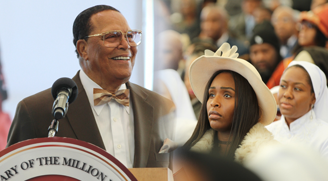 Recognizing Minister Farrakhan's consistency in uplifting women to their rightful place