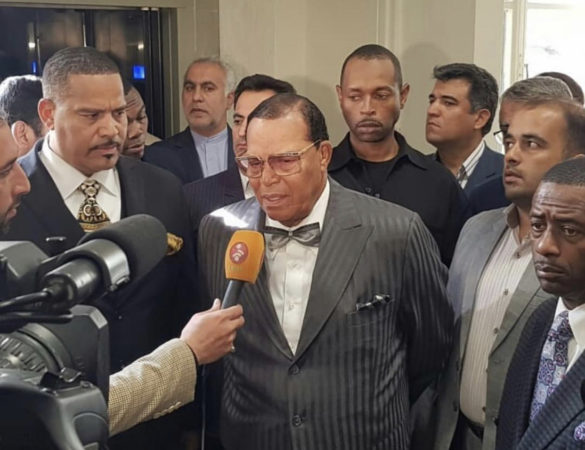 Statement from the Honorable Minister Louis Farrakhan regarding his trip to Iran and message to Iran and America