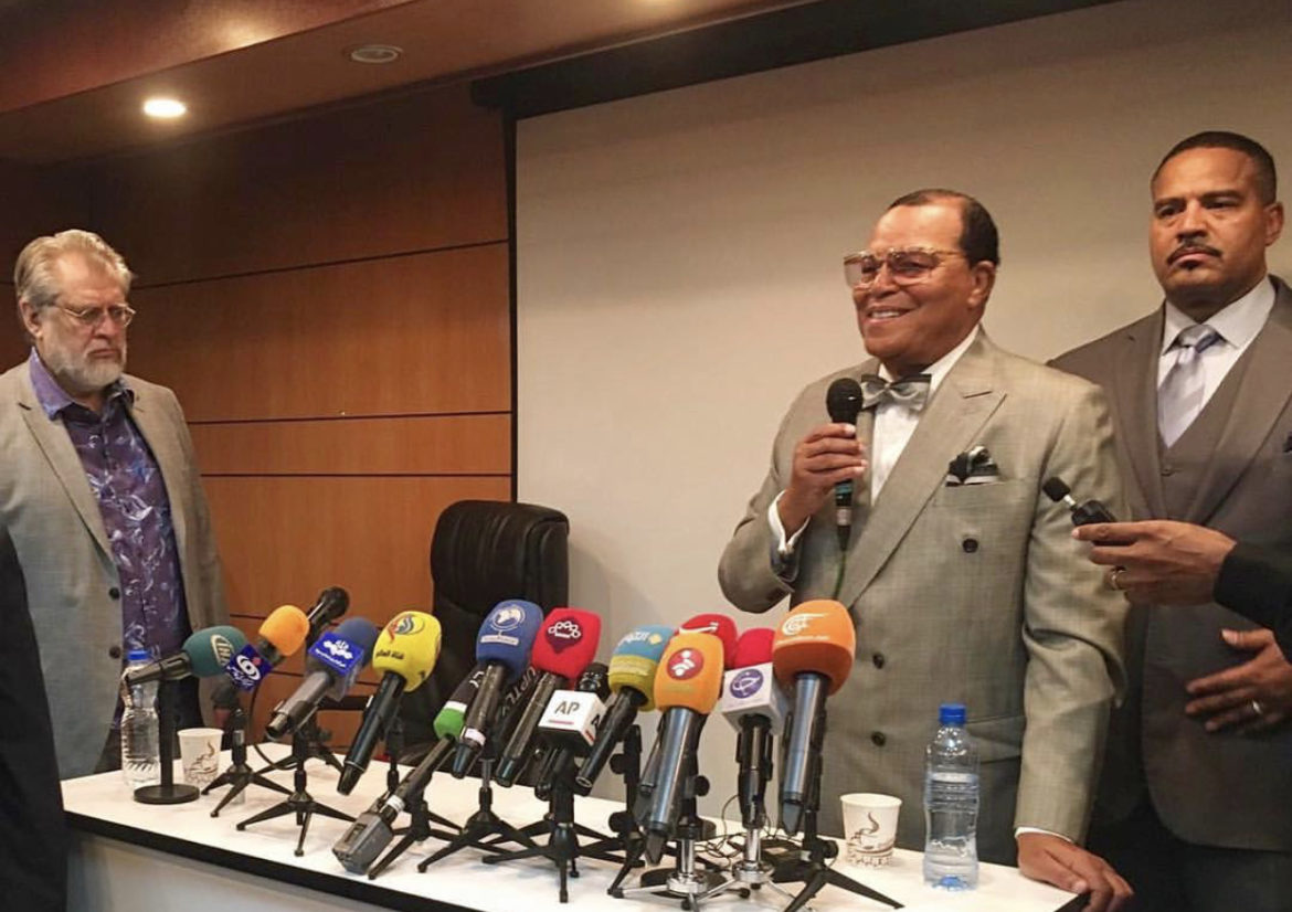 Full Video of Minister Farrakhan's Nov. 8th press conference hosted at the Press TV headquarters in Tehran
