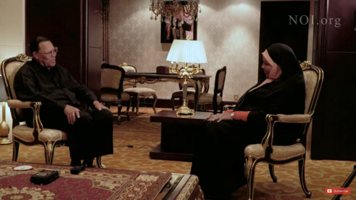 Minister Louis Farrakhan Interview w/ Marzieh Hashemi of PressTV